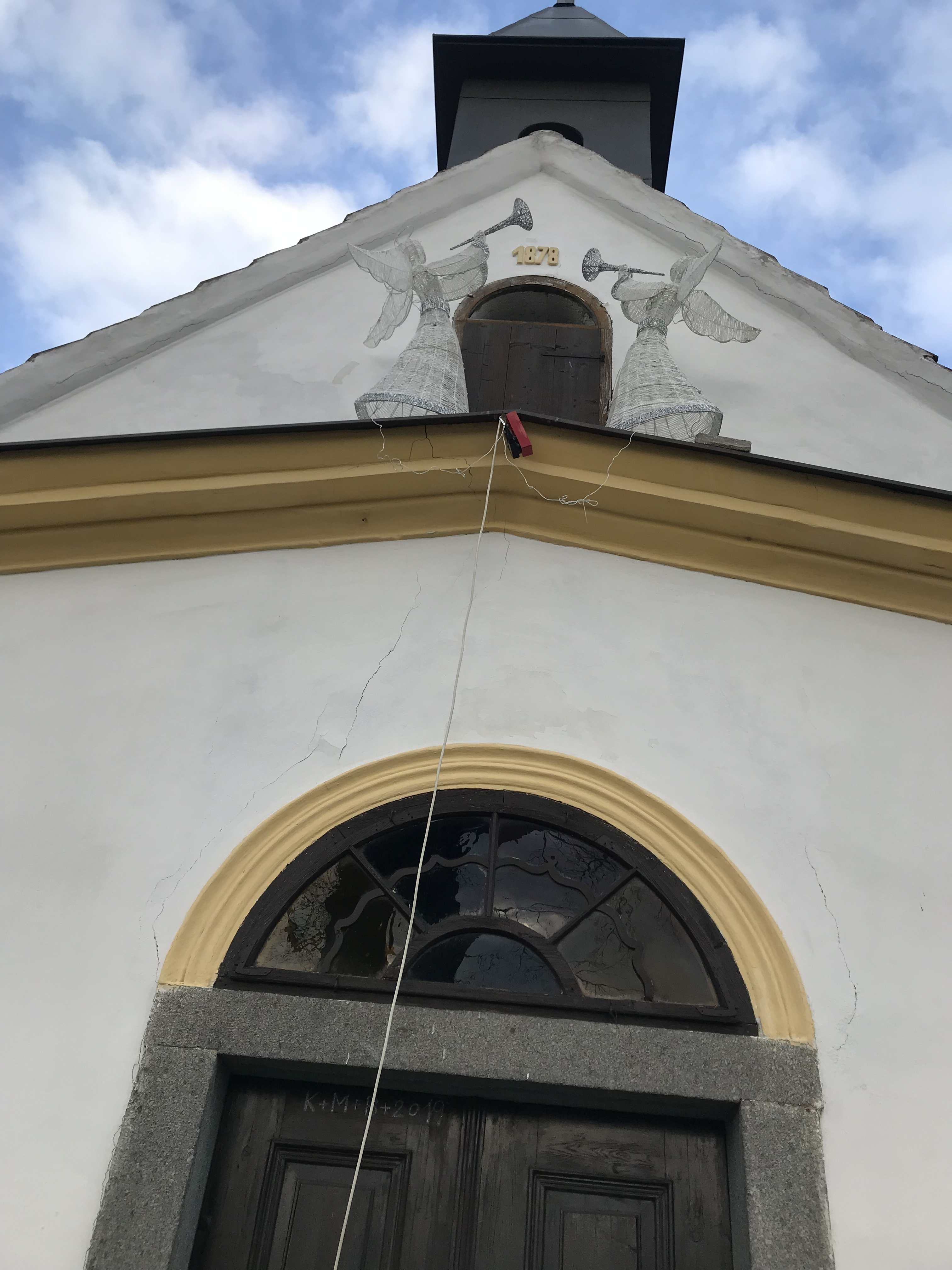 Údržba kapličky na p.č.st. 1 v obci Zvotoky